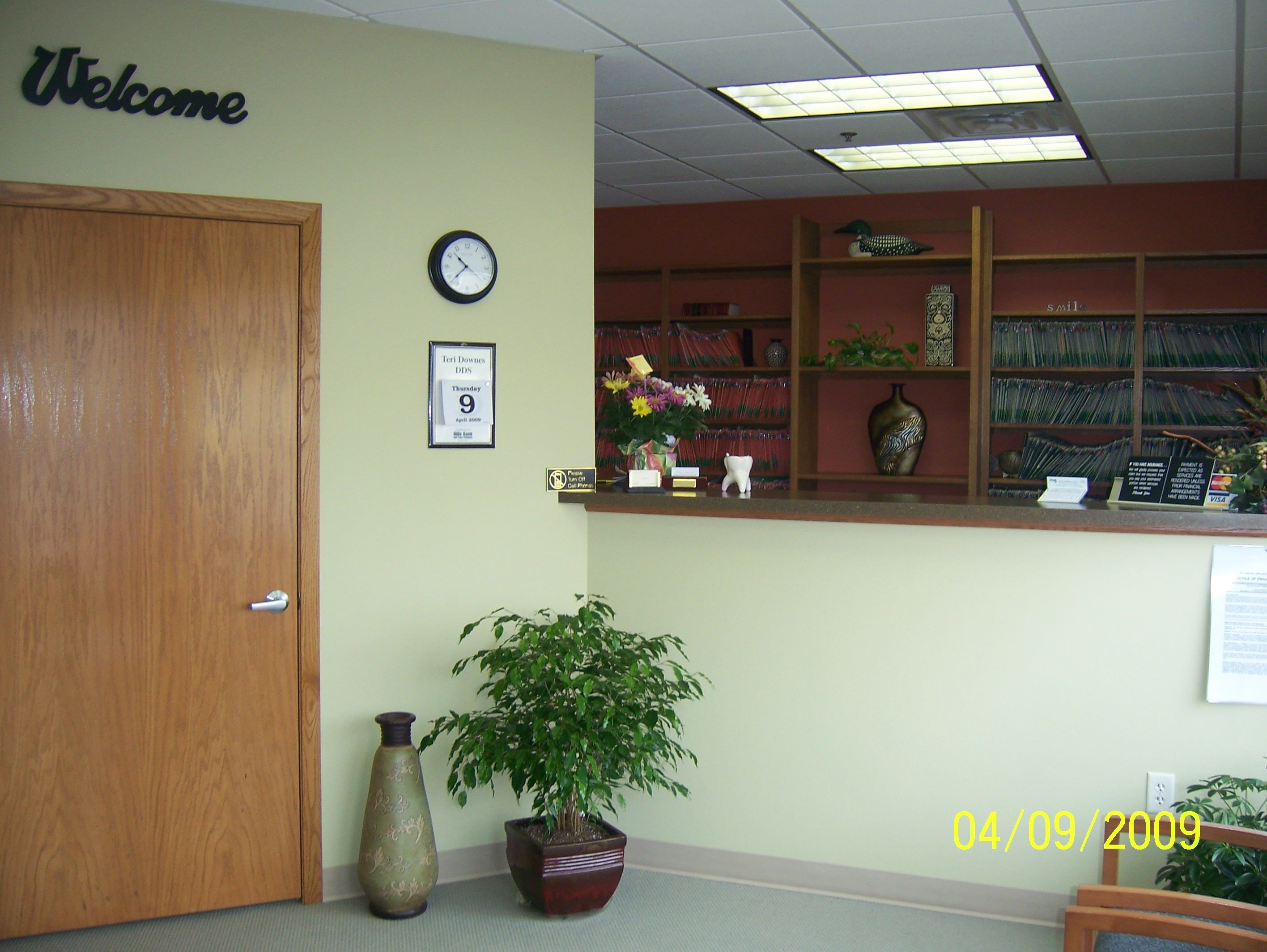 Interior of Dr. Farinelli's office