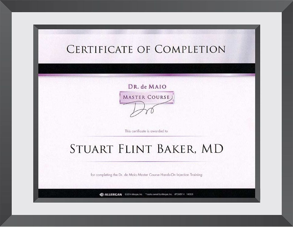An image of a certificate of completion