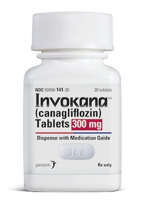 Image of Invokana prescription bottle