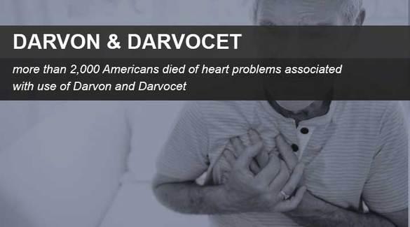 Darvocet and Darvon complications