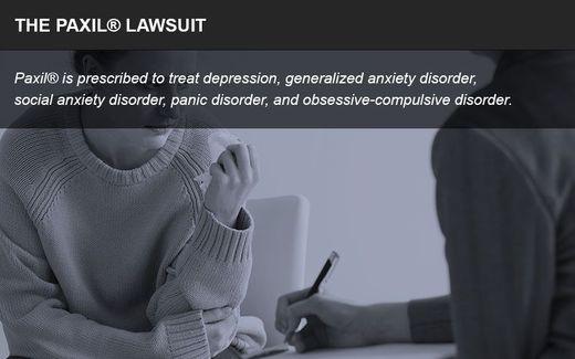 The Paxil lawsuit