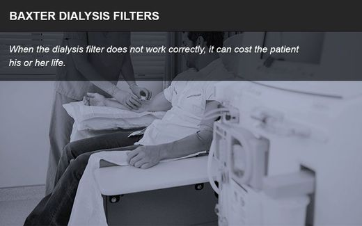 Baxter dialysis filter litigation