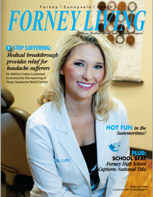 Forney Living 2012 Cover