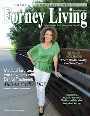 Forney Living magazine cover