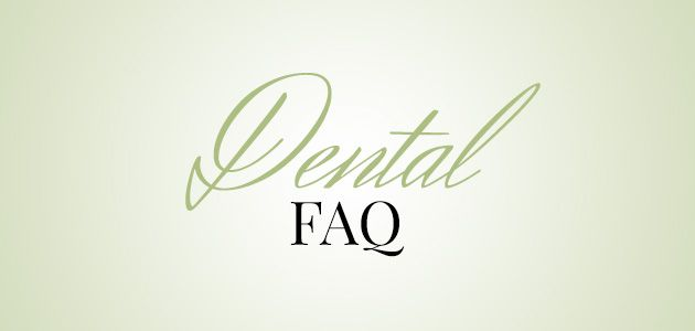 image of dental faq