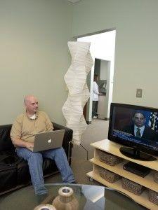 image of waiting room at Dentistry at Sugarloaf