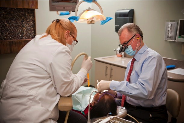 treating a dental patient
