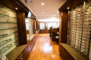 Dispensary corridor - McLeod Optometry Clinic!