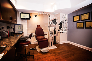 Exam Room - McLeod Optometry Clinic