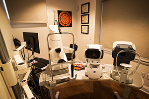 Diagnostic Room Matrix and Intra-ocular McLeod Optometry Clinic