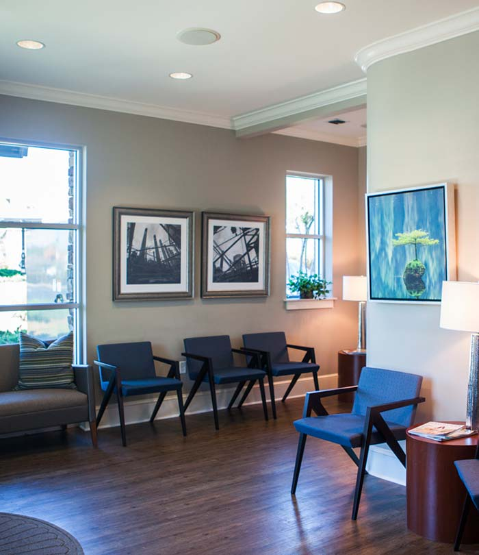 Dr. Gooch's office waiting room