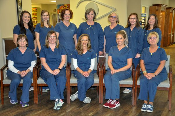 Staff Photo at Holcomb Laser Center