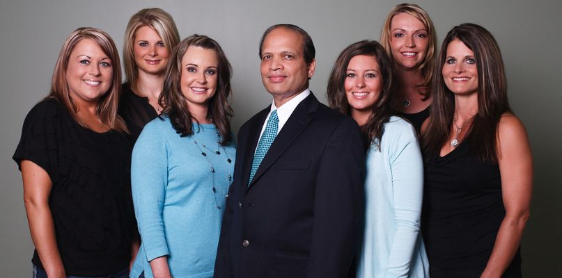 Dr. Chhatre and Staff