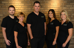 Dr. Hank Michael and his staff
