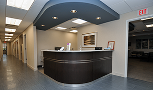 Colon and Rectal Surgeons Surgical Specialists Reception Desk