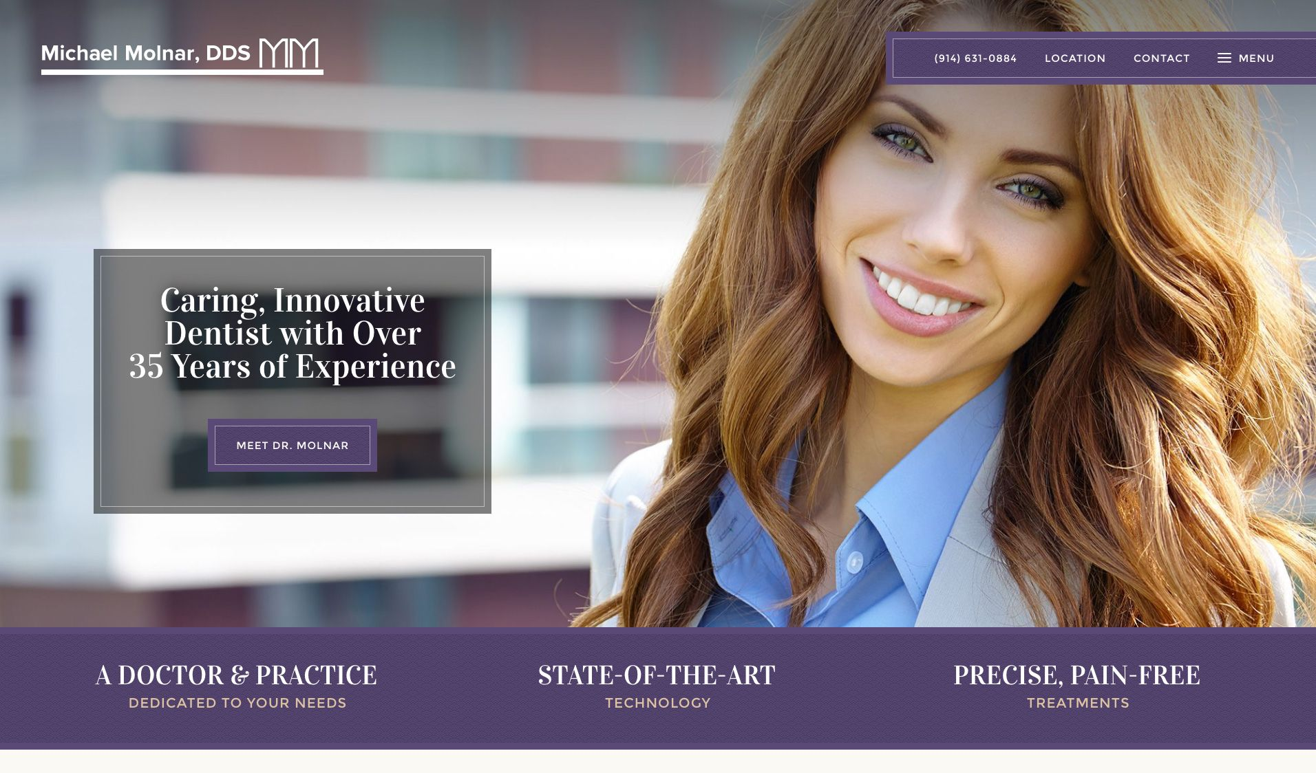 The website of Michael Molnar, DDS