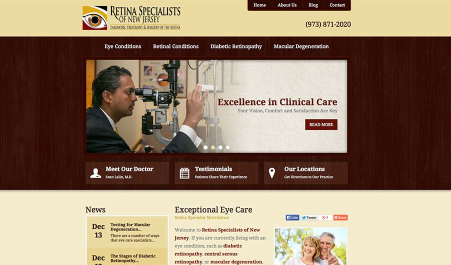 The website of Dr. Sean Lalin