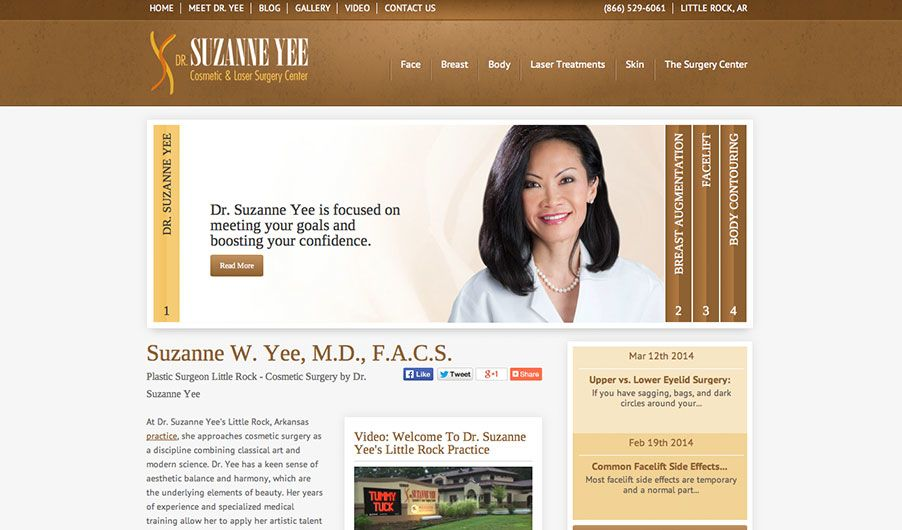 The website of Dr. Suzanne Yee