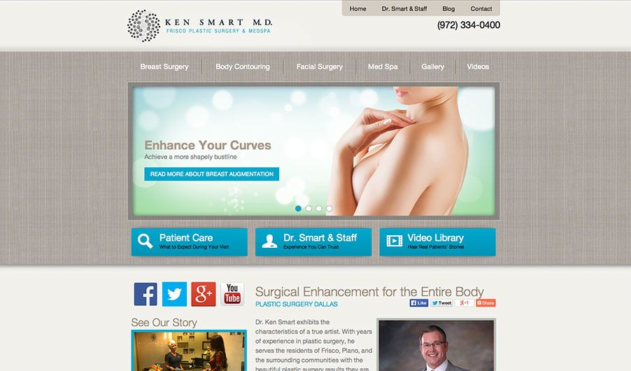 The website of Dr. Ken Smart