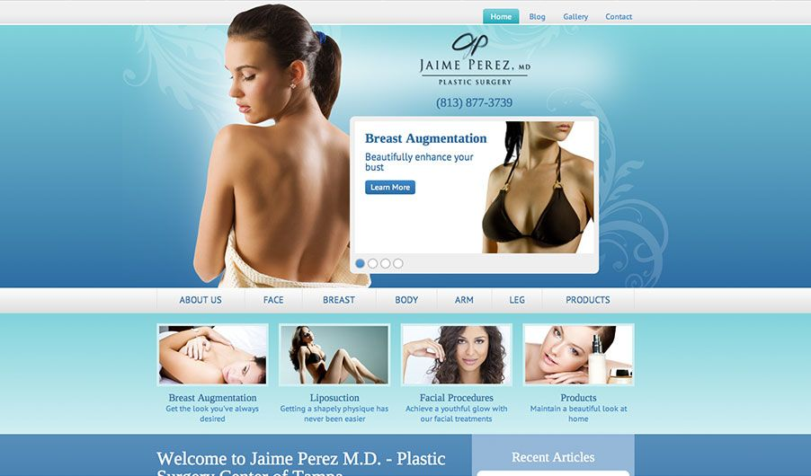 The website of Dr. Jaime Perez