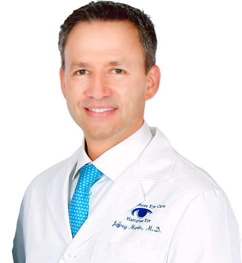 Dr. Jeffrey Martin, LASIK surgeon and Einstein Medical client