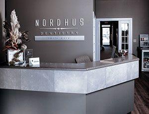 Nordhus reception desk