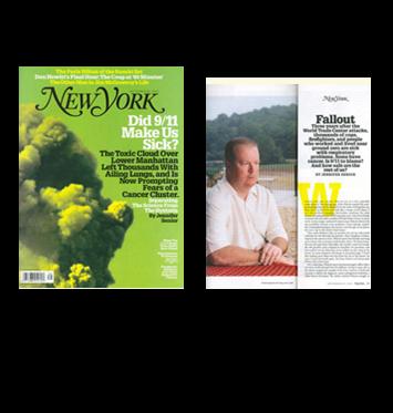 Worby Vecchio Edelman in New York Magazine