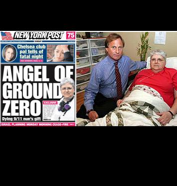 New York Post: Angel of Ground Zero