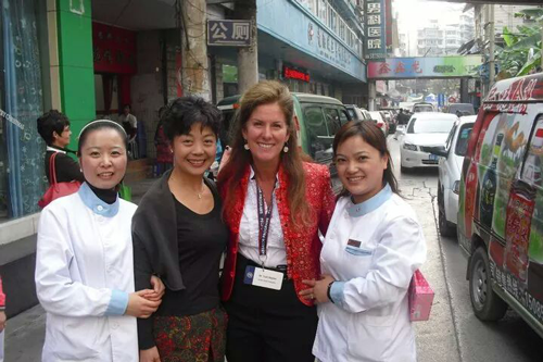Dr. Toni Sartini meets with Female Dentists in China