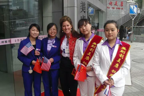 Dentist Toni Sartini Visits China