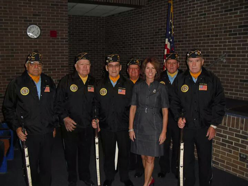 Dr. Sartini meets with Vets