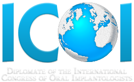 Diplomate of the International Congress of Oral Implantologists