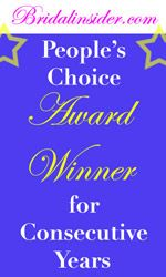 Bridal Insider People's Choice Award