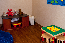 Cordova Dental Kids Area