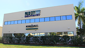 Palm City Dentistry office
