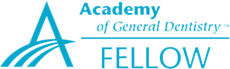 The Academy of General Dentistry logo.