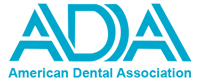The American Dental Association logo.
