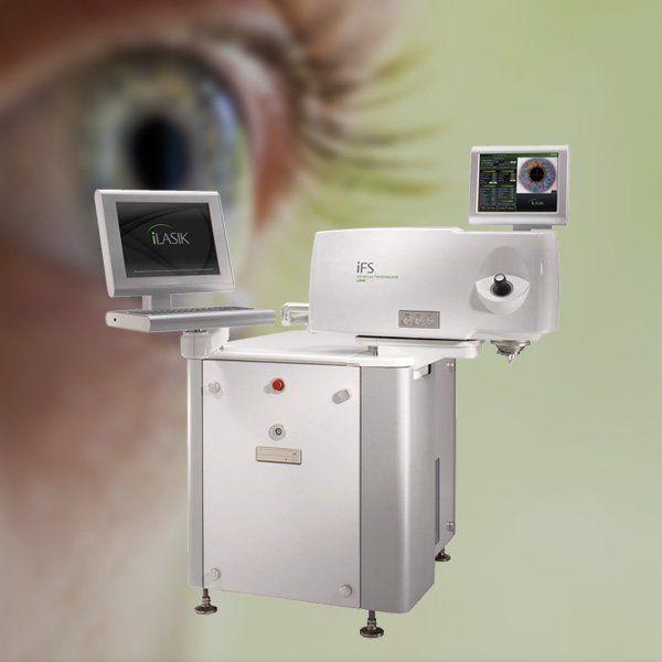 Photo a LASIK system