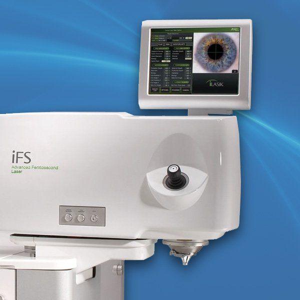 Laser vision system