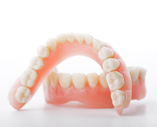 New materials produce dentures that look like your natural teeth.