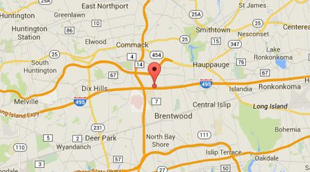 LASIK Long Island Hauppauge City Map