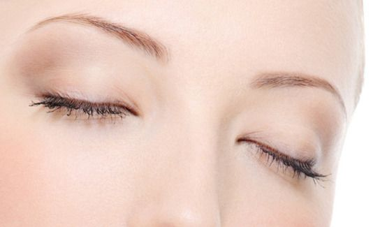 image of woman with eyelid surgery
