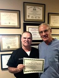Dr. Michael Devlin and Dr. Michael P. Goodmam, M.D. at The Labiaplasty and Vaginoplasty Training Institute of America