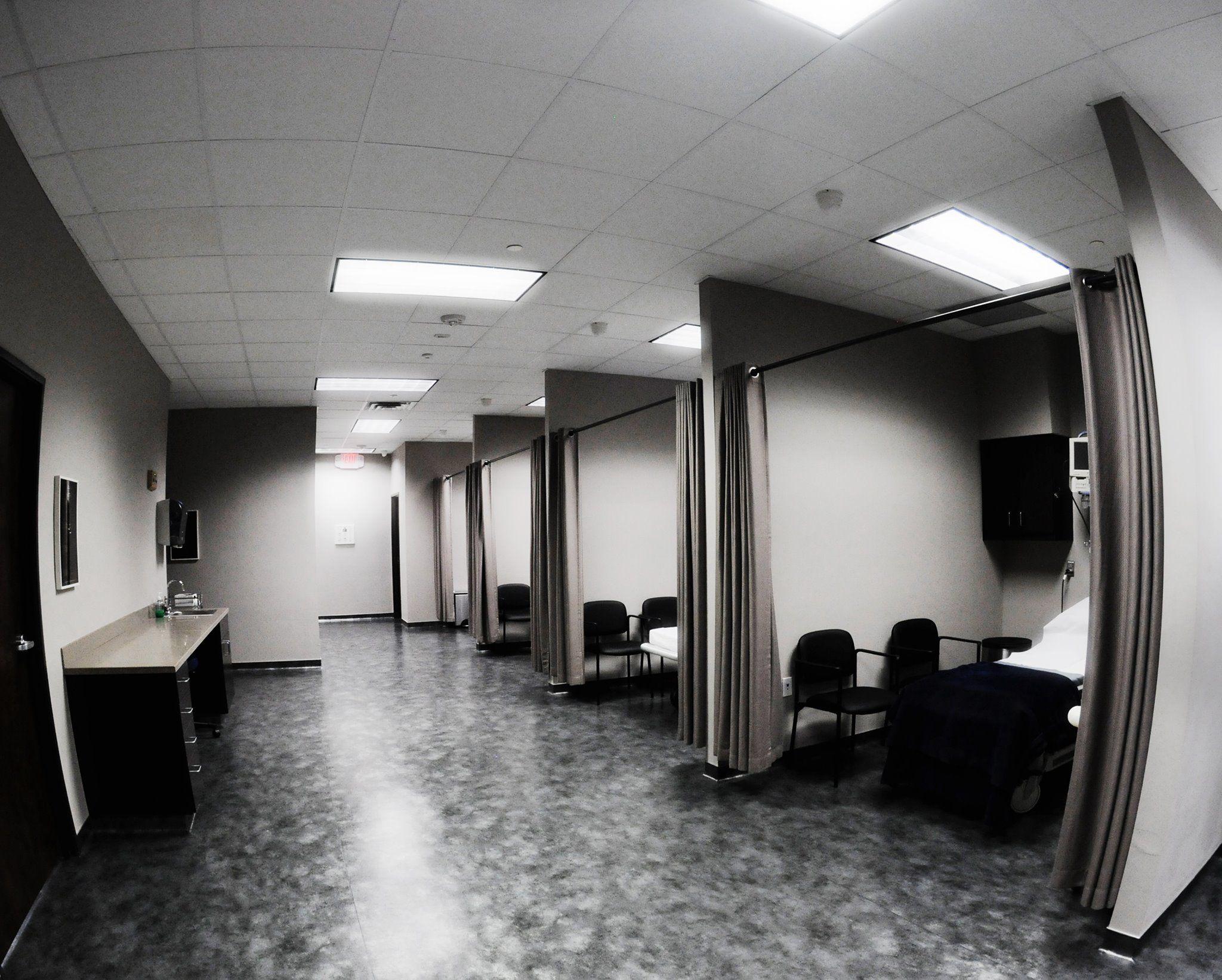 Jones Plastic Surgery Recovery Room