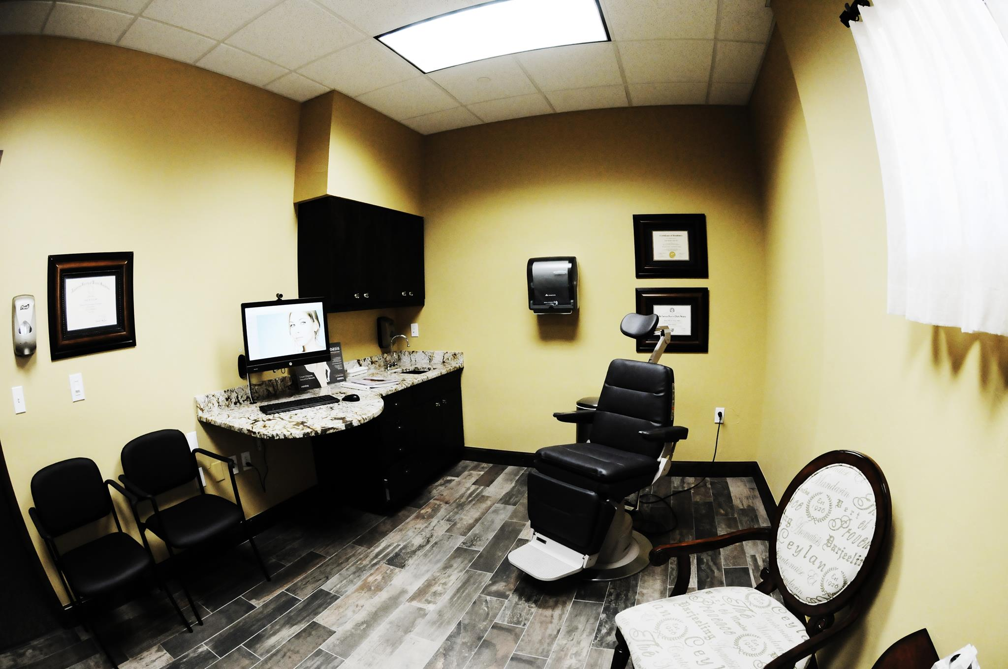 Exam Room at Jones Plastic Surgery