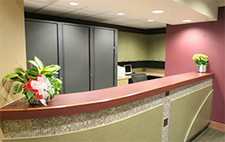 KFA Dental Reception Area