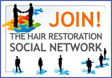 The Hair Restoration Social Network logo