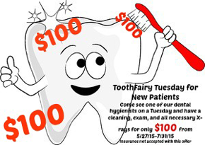 Tooth Fairy Special Offer