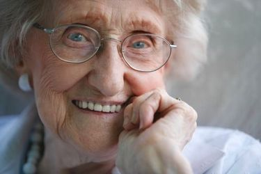 geriatric dental patient