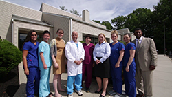 Dr. Gordon and Staff